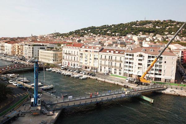 Les travaux du pont Sadi-Carnot à Sète ont débuté le 3 septembre 2018.