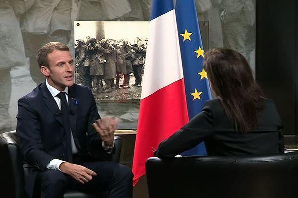 Emmanuel Macron sur France 3 Hauts-de-France et France Grand Est ce jeudi dans le 19/20
