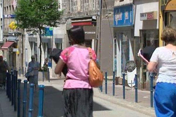 Les piétons pourraient bientôt avoir l'exclusivité de la rue Adrien Dubouché.