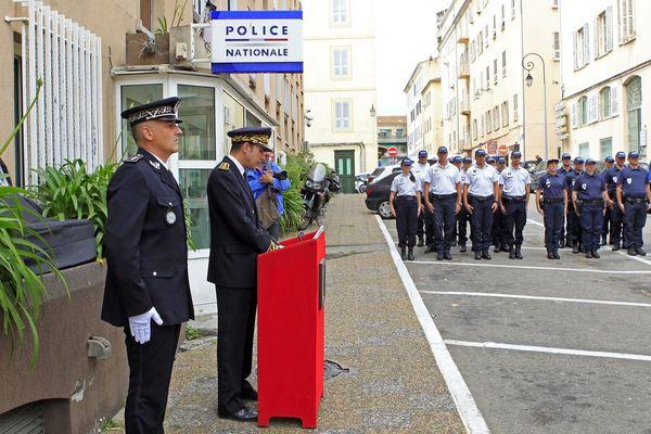 Nicolas Lerner (2ème) a été sous-préfet coordonnateur pour la sécurité auprès des préfets de Haute-Corse et de Corse-du-Sud de 2015 à 2017.