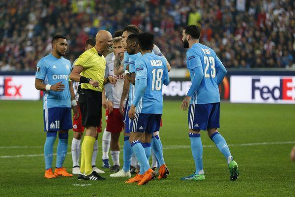 Demi-finale retour de la coupe d'Europe de football entre le FC Salzbourg et l'OM.