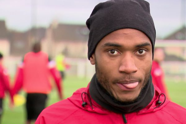 Fred Dembi, joueur du FCR