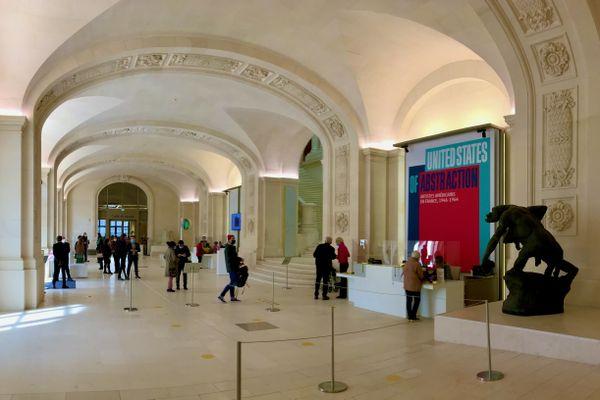 Le déconfinement au musée d'Arts de Nantes, il est prudent de réserver sa visite avant de se déplacer