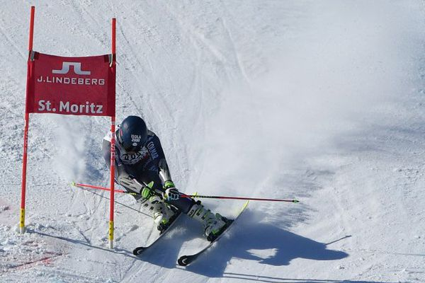 Mathieu Faivre, à St-Moritz
