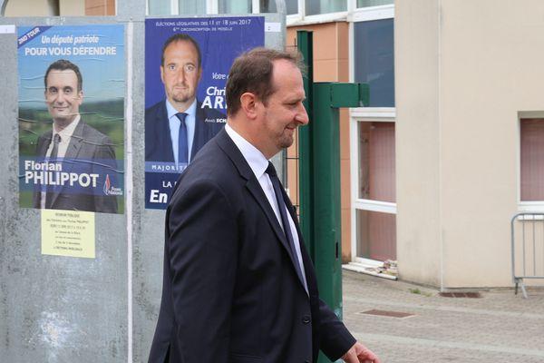 Christophe Arend, tombeur de Florian Philippot, est devenu en 2017 député LREM de la 6e circonscription de la Moselle