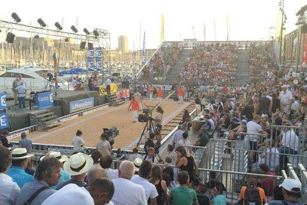 Le boulodrome du Vieux-Port où se joue la finale