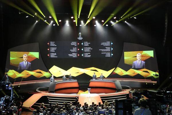 Tirage au sort de l'Europa League à Monaco - 30/08/2019