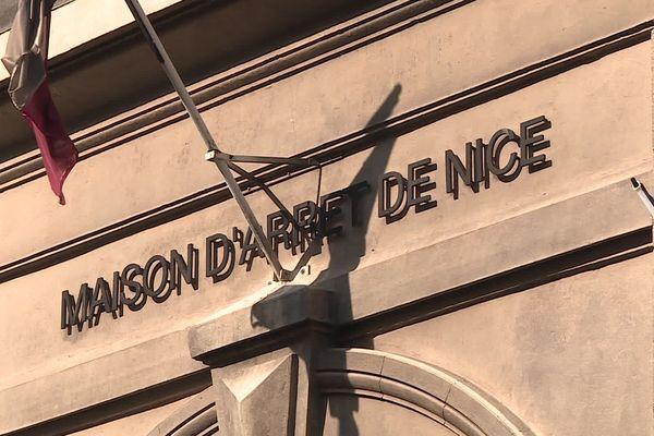 La maison d'arrêt de Nice, située au 12 Rue de la Gendarmerie