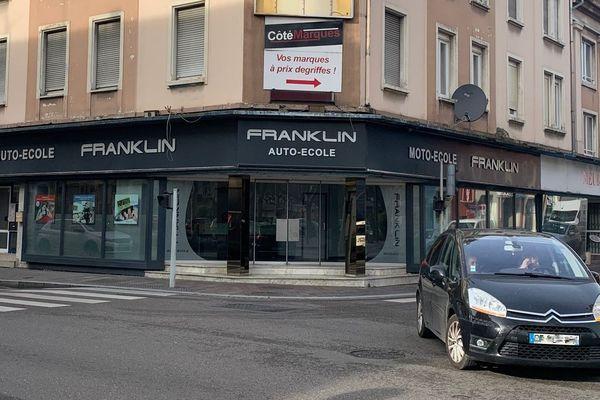 L'auto-école Franklin, à Mulhouse, proposait le code de la route à 1.500 euros