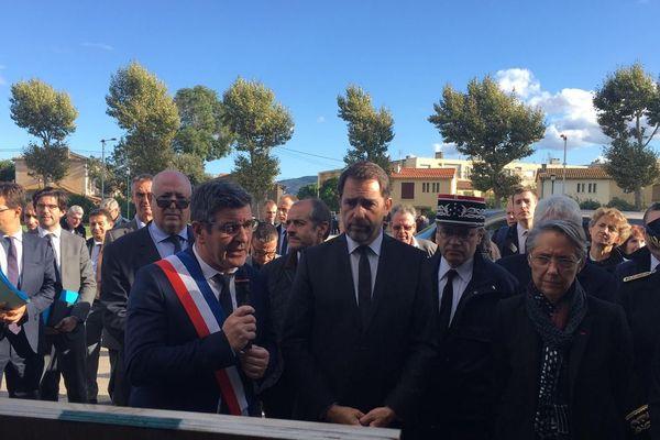"""""""Trop souvent, on a oublié le risque inondation,"""" a expliqué Christophe Castaner, le ministre de l'Intérieur."""