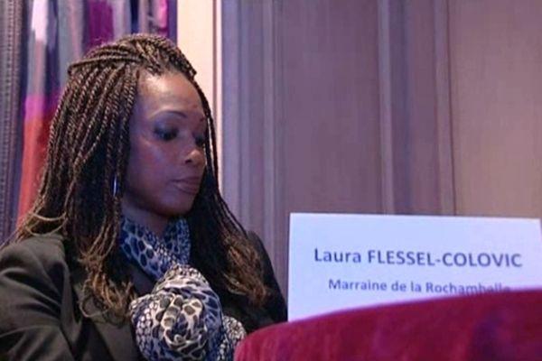 Laura Flessel, marraine de la Rochambelle 2013