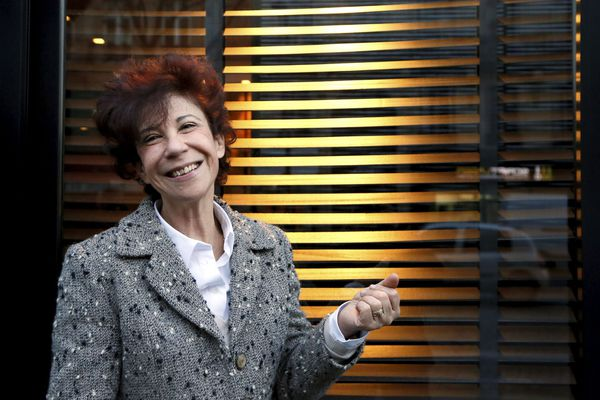 L'ex-femme de Coluche, Véronique Colucci, en 2013.