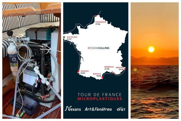 Les mesures se sont terminées à Marseille ce samedi 22 août. Les résultats seront envoyés en laboratoire