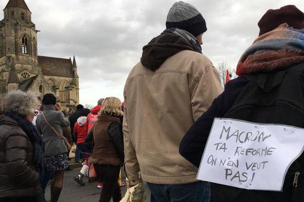 Encore du monde ce samedi contre les réformes des retraites à Caen