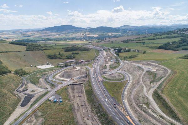 De nouvelles fermetures nocturnes auront lieu au sud de Clermont-Ferrand, sur l'A75, du 15 au 18 juin.