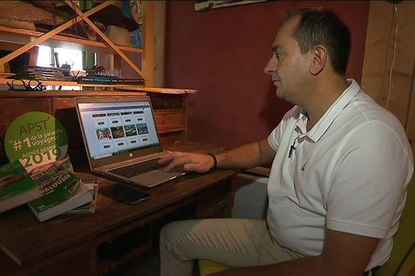 Samuel Boillot a lancé une nouvelle agence de voyages en ligne en Haute-Saône.