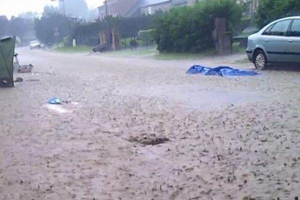 Pluies diluviennes dans l'Aisne ce dimanche.