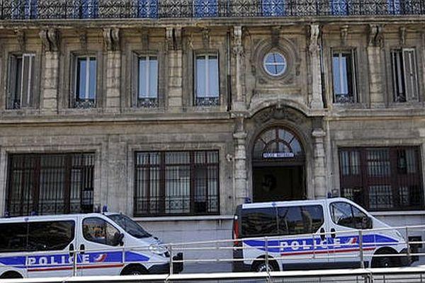 Marseille - les locaux de l'IGPN, Inspection générale de la police nationale - archives