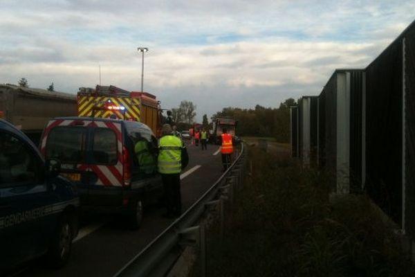 L'accident s'est produit à Pins-Justaret