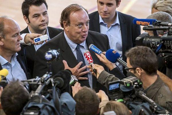 Maire de Lambersart et président de la fédération de l'UMP du Nord, Marc-Philippe Daubresse se verrait bien à la tête de la région.