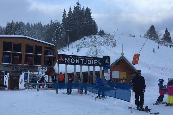 Retour des joies du ski à la station du Lac blanc
