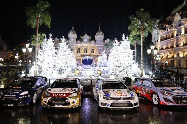 La cérémonie de départ à Monaco lundi soir
