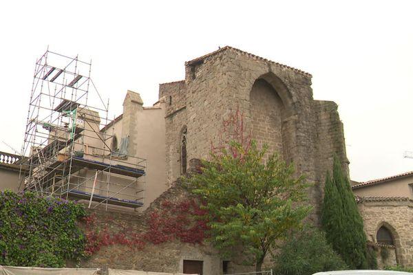 Fortement dégradée, l'église des Carmes sera rénovée à l'occasion de travaux prévus pour une durée de 6 ans.