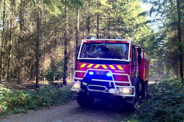Les pompiers de la Haute-Vienne à Saint-Priest-Ligoure