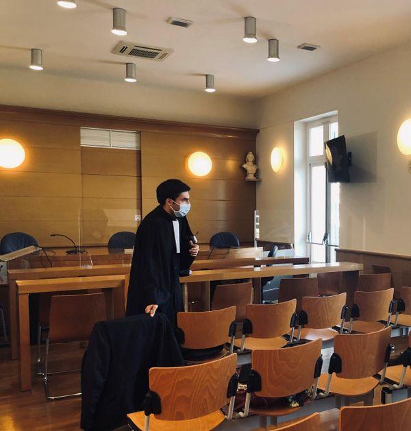 Maître Genuini, avocat de la Collectivité de Corse