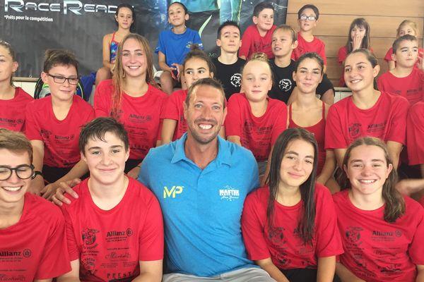 Alain Bernard, double champion olympique, invité pour les 10 ans du centre nautique Aqua'Noblat