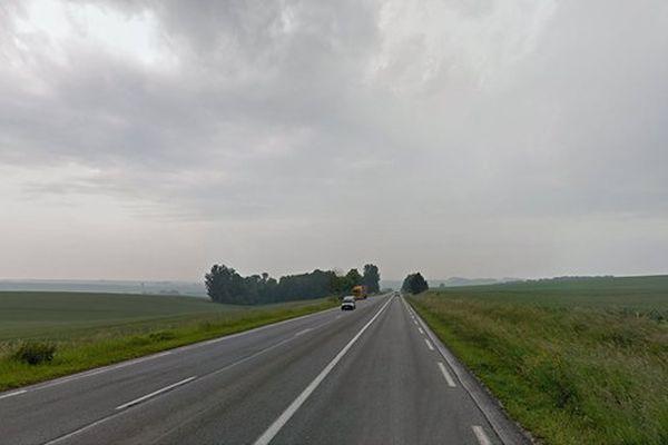 L'accident a eu lieu sur la N2 à Saint-Gobert dans l'Aisne.
