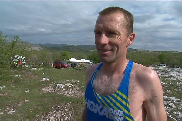 Emmanuel Meyssat, vainqueur de la 16ème ascension du col de Vence