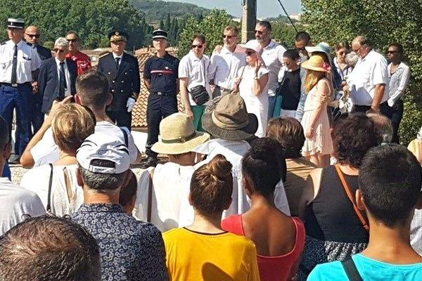 La commune de Générac a rendu hommage à Franck Chesneau, samedi 10 août.