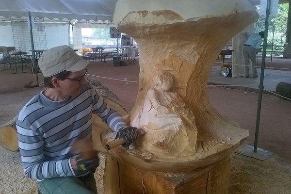 Festival de la sculpture à La Bresse