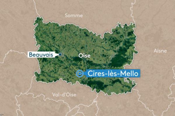 Un jeune homme a trouvé la mort sur la route à Cires-lès-Mello (Oise) vers 8h30 ce 6 janvier.