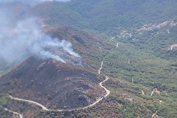 Un incendie a détruit près de deux hectares de végétation à Muro ce dimanche 16 août.