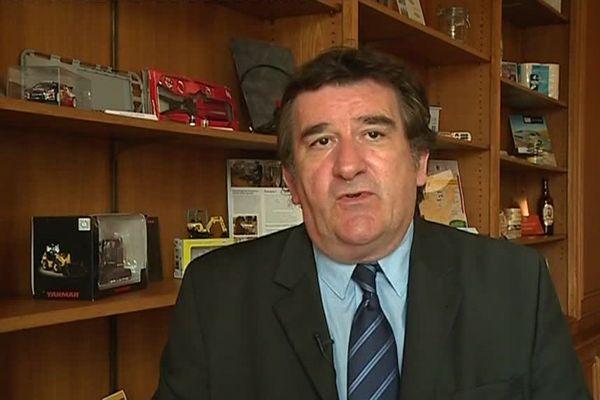 Jean-Paul Hasseler, président de la CCI de la Haute-Marne