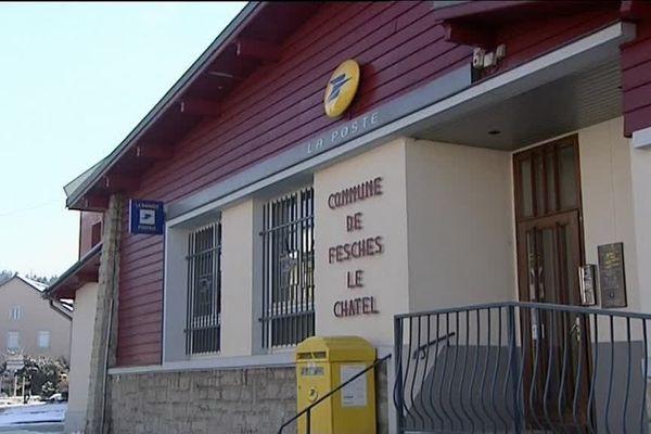 Fesches-le-Châtel : le bureau de poste va fermer, décision votée par le conseil municipal