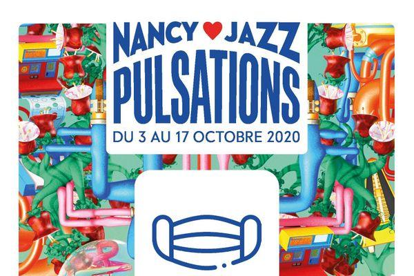 Le port du masque est obligatoire sur l'ensemble des sites du festival Nancy Jazz Pulsations cette année.