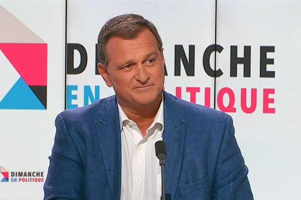 Louis Aliot, député Rassemblement national et conseiller municipal à Perpignan, invité de Dimanche en politique le 15 septembre 2019.