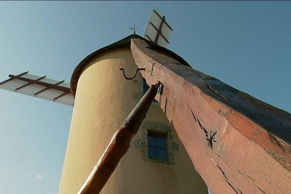 Le moulin de Vernoux-en-Gâtine a repris du service grâce à Franck Lerceteau.