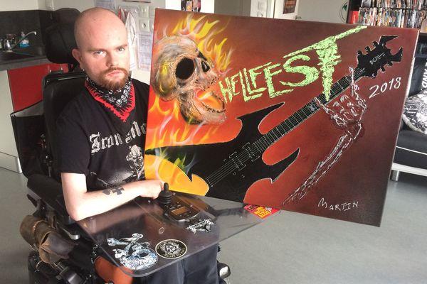 Martin ne louperait le Hellfest pour rien au monde