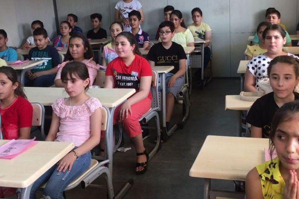 Reconstruire la société irakienne sur les bancs de l'école