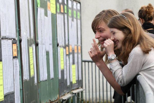 Les résultats du bac en 2012 au Lycée Albert Camus. (archives)