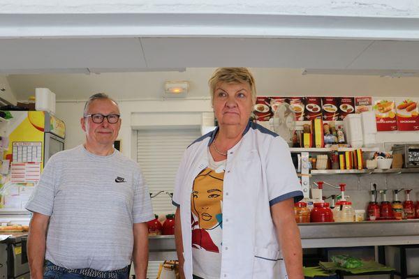 La fermeture des frontières a eu un impact fort sur la clientèle de Danielle et Michel Derreunax.