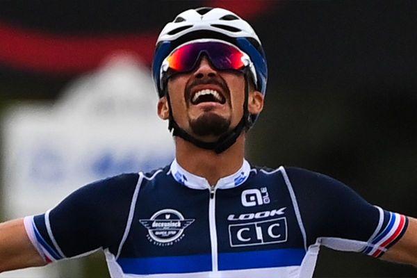 Julian Alaphilippe faisait figure d'outsider pour la course en ligne du dimanche 27 septembre à Imola en Italie. Il a remporté le titre de champion du monde.