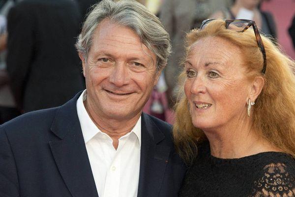 Philippe et Béatrice Augier, lors du  40e festival du cinéma américain de Deauville