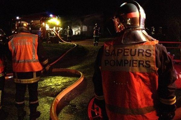 Les pompiers du Tarn lors d'une intervention. Photo d'archives