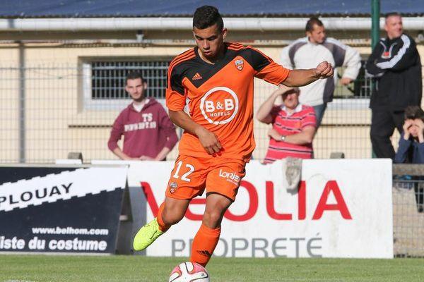 Pierre Lavenant a été formé au FC Lorient
