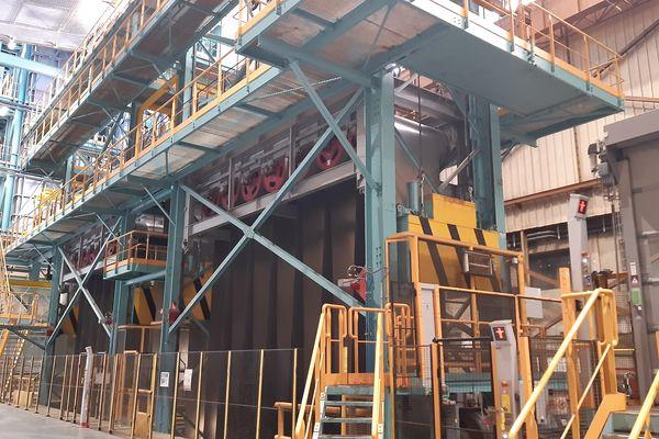 La capacité de production de Galsa2 est de 800 000 tonnes par an.